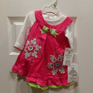 Rare Editions 2 Piece Little Girl's Set